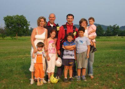 Famiglie - corso parapendio 1 2005