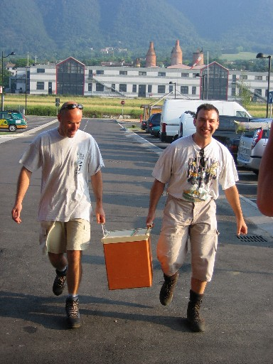 Frigo - corso parapendio 1 2005