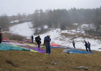 Gruppo - corso parapendio 1 2005