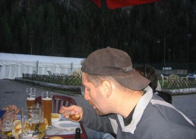 gita a canazei parapendio 2006