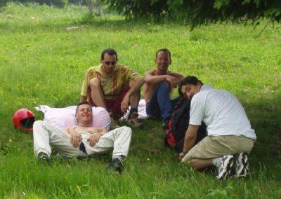 afa in campetto - corso parapendio 1 2002