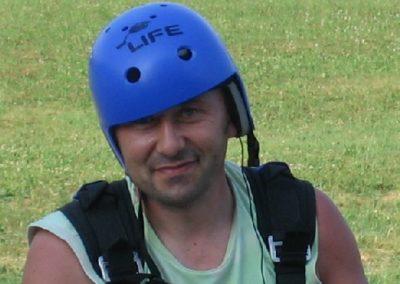 amedeo casco - corso parapendio 1 2005