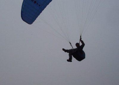 dario sul centro - corso parapendio 2 2002 - Dove non osano le aquile