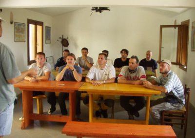 esami di teoria - corso parapendio 1 2002