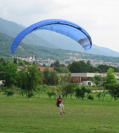 franc atterra - corso parapendio 1 2005