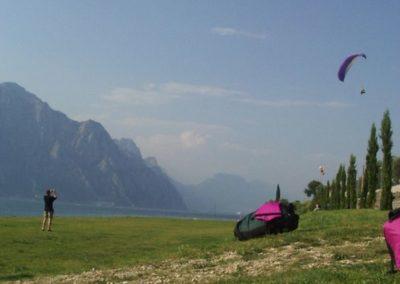 2003 gita parapendio Lago di Garda