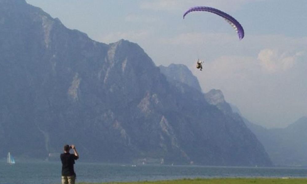 giuliano - 2003 gita parapendio Lago di Garda