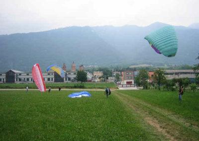 gonf gruppo - corso parapendio 1 2005