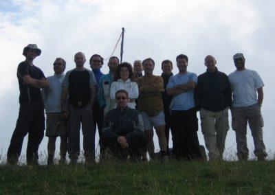 gruppo panettone - corso parapendio 1 2005