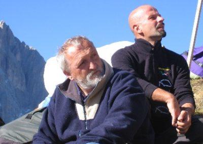 gra e gus sella - gita a Canazei parapendio 2005