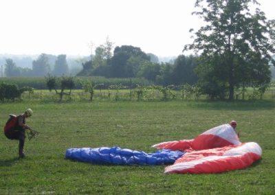ground collision - corso parapendio 1 2005