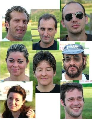 gruppo - corso parapendio 01 2004