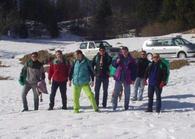 gruppo - corso parapendio 1 2003
