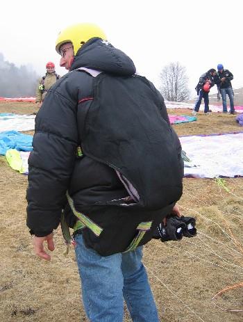 imbrago rovescio - corso parapendio 1 2005