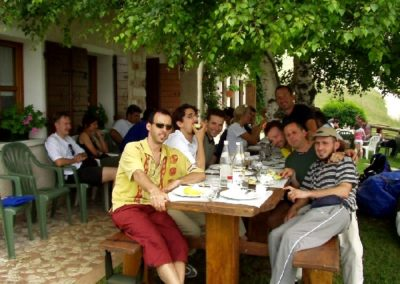 in agritur colserai - corso parapendio 1 2002