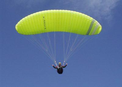 luca in volo - corso parapendio 2 2002 - Dove non osano le aquile