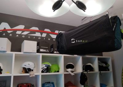 Manta paragliding showroom store Borso del Grappa