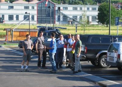 mattina esame - corso parapendio 1 2005