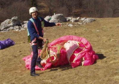 michele - corso parapendio 1 2002