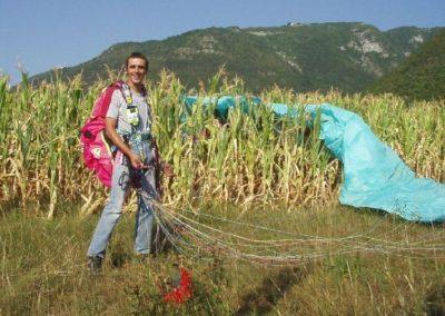 michele mais - corso parapendio n2 2003