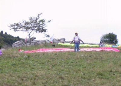 panorama vele in campetto - corso parapendio 02 2001