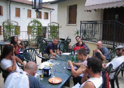 pranzo - corso parapendio 1 2005