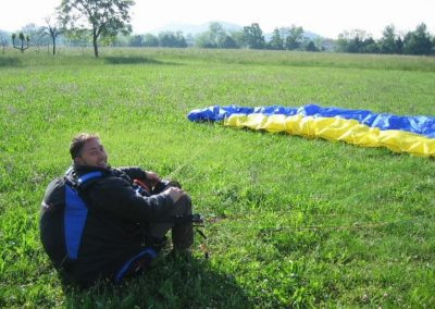 primo amedeo - corso parapendio 1 2005