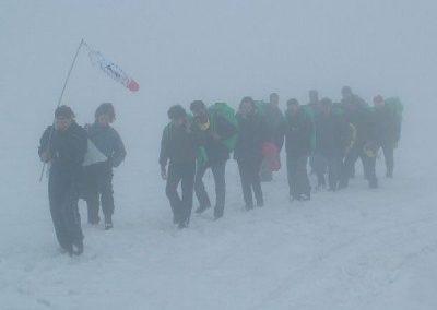 spedizione amundsen - corso parapendio 01 2004