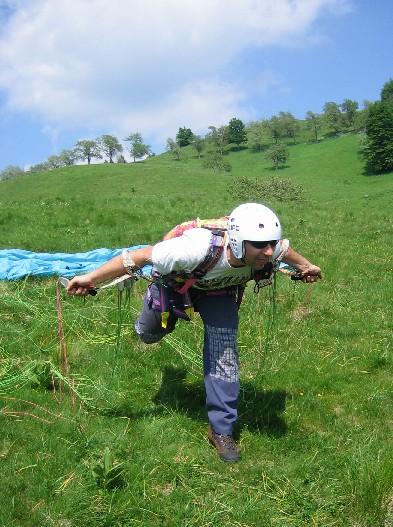 stefano plastico - corso parapendio 1 2005