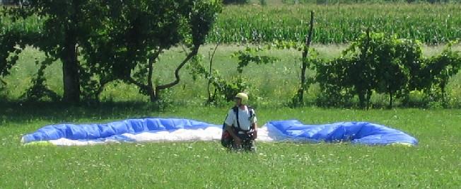 stefano tonf - corso parapendio 1 2005