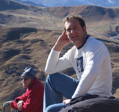 toni sella - gita a Canazei parapendio 2005