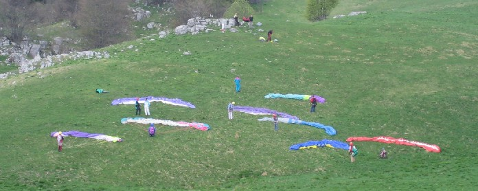 vele - corso parapendio 1 2005